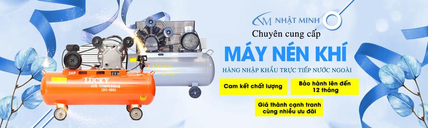 Máy nén khí chính hãng tại Nhật Minh