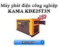 MÁY PHÁT ĐIỆN KAMA KDE25T3N