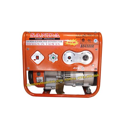 Máy phát điện mini gia đình Sanda SD4500R 3.1Kw/220V