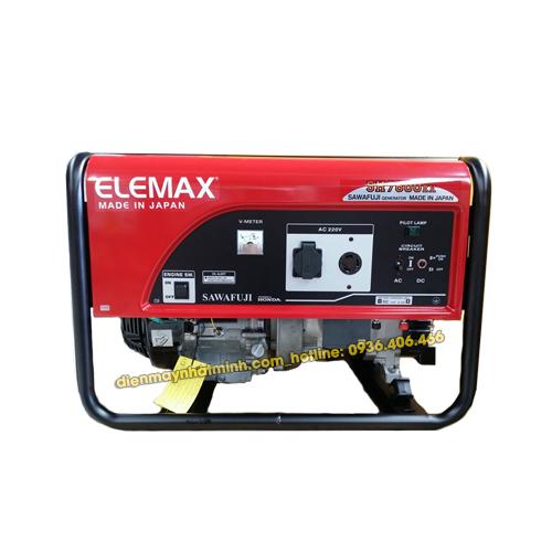 Máy phát điện mini gia đình ELEMAX SH7600EX 6.5Kw/220v