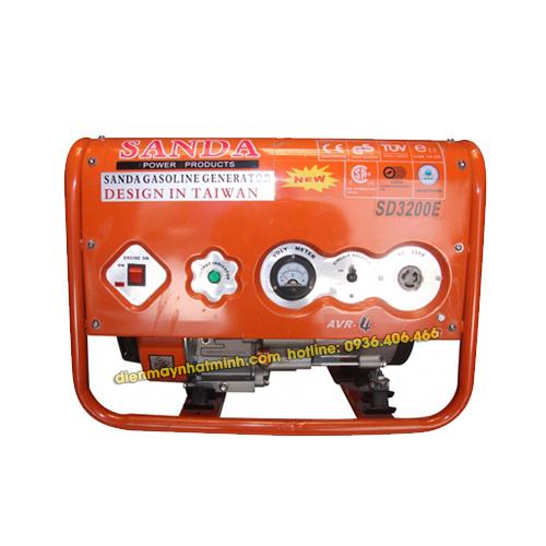 Máy phát điện mini gia đình Sanda SD3200E - 2.2kw/220V