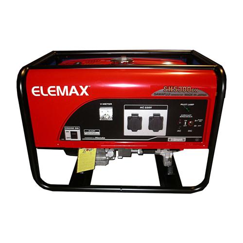 Máy phát điện mini gia đình ELEMAX SH5300EX 4.7Kw/220v