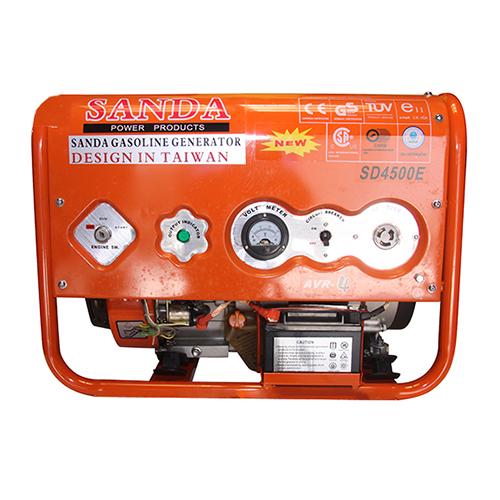 Máy phát điện mini gia đình Sanda SD4500E 3.1Kw/220v